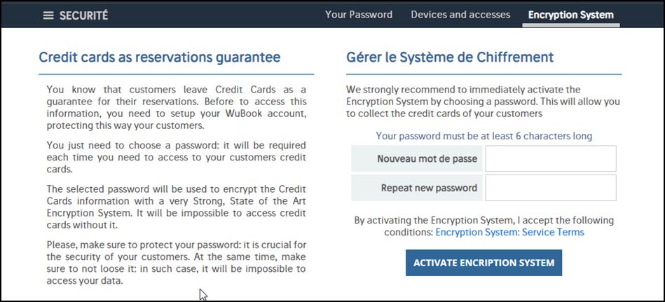 Système de cryptage